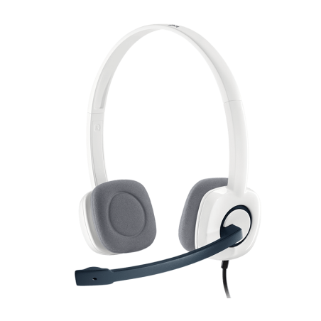 Logitech Stereo Headset Blue H150 for PC and Laptops