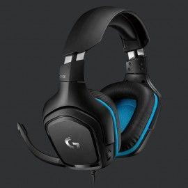 Logitech G431 Gaming Headphone Headset For PC & Laptops