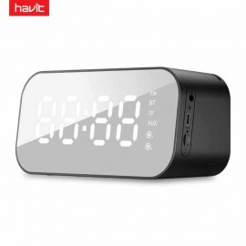Havit HV-M3 Portable Wireless Bluetooth Speaker With LED Display Alarm Clock