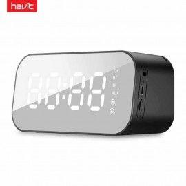Havit HV-M3 Portable Wireless Bluetooth Speaker With LED Display Alarm Clock