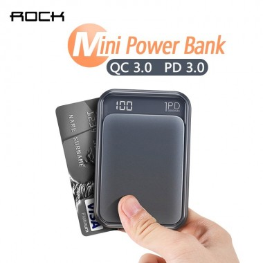 ROCK 18W Type C PD QC 3.0...