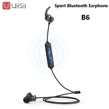 UiiSii B6 Sport Wireless Bluetooth Headset Earphone Headphone
