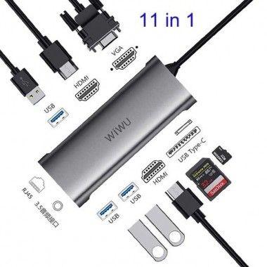 WIWU 11 in 1 Multi-function...