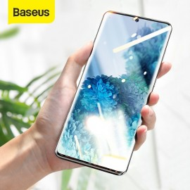 Baseus UV Tempered  Screen Protector Curved Glass For Samsung Galaxy S20 Plus