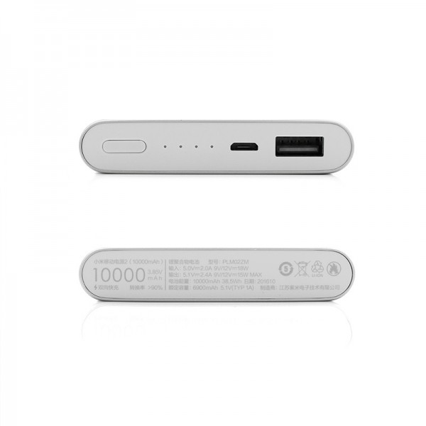 Xiaomi Mi Power Bank 2 10000mah Quick Charger Powerbank Pro Original Charge Reference Ndy 02 An In Stock