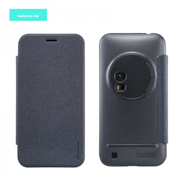 the best attitude 67967 45465 Nillkin Sparkle Leather Case for Asus Zenfone Zoom ZX551ML