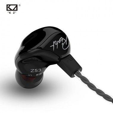 KZ ZS3 Ergonomic Detachable...
