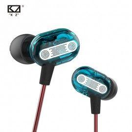 KZ ZSE Dynamic Dual Driver Earphone In Ear Headset Headphone