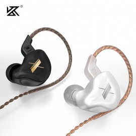 KZ EDX Earphones 1 Dynamic HIFI Bass Earbuds In Ear Headphones