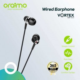 Oraimo OEP-E23 Vortex Pure Bass In Ear Earphone with Mic Price in BD