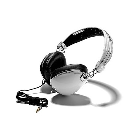 Skullcandy Roc Nation Aviator White Headphones w/Microphone