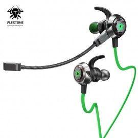 PLEXTONE G50 Vibration Gaming Earphones with Detachable Long Mic