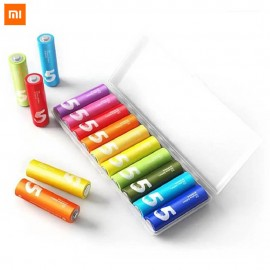 XIAOMI ZI5 ZMI AA Alkaline 10PCS Rainbow Battery