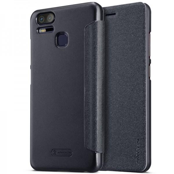 buy popular 1265b 3c5c0 Nillkin Sparkle Leather Case For Asus Zenfone 3 Zoom (ZE553KL)