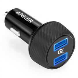 Anker 2 Port PowerDrive  Speed USB Car Charger A2228
