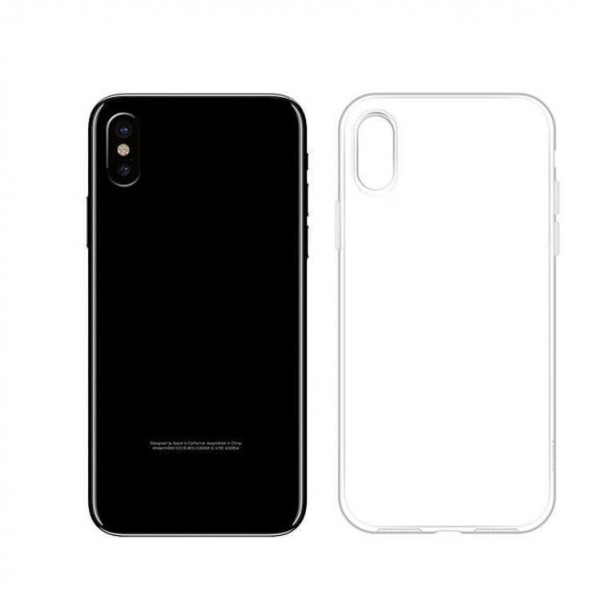Hoco Iphone X Light Series Protective Back Case Cover Transparent