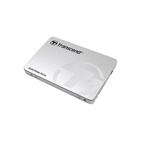 """Transcend 480GB SSD370 - 2.5"""" SSD / SATA3, MLC, Aluminum case"""