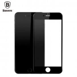 Baseus iPhone 7 Tempered 3D Glass Protector - Black
