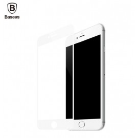 Baseus iPhone 6, 6s Tempered 3D Glass Protector - White