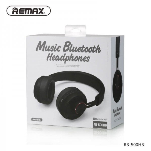 Remax Rb 500hb Wireless Bluetooth Music Headphone With Mic In Stock