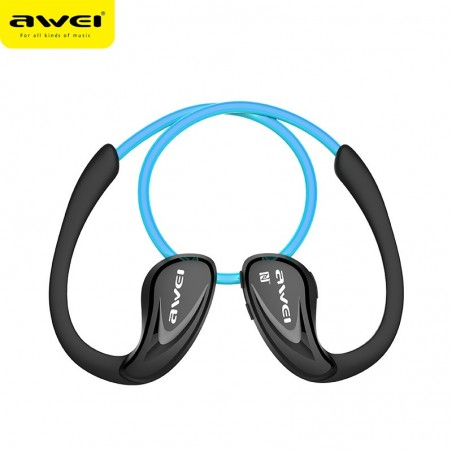 Awei Wireless Bluetooth V4.0 Headphones Sports Stereo Earphones A880BL