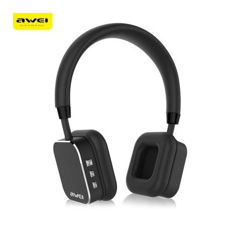 AWEI Bluetooth V4.0 Wireless HiFi Music Headset Headphones A900BL