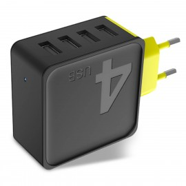 ROCK Sugar Travel Charger 4A (4-Port)
