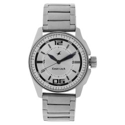 Fastrack Silver-White Dial...