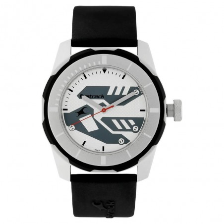 Fastrack Sport Silver Dial Analog Watch for Men NK3099SP01