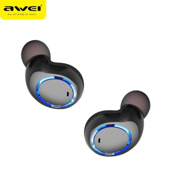 208566a13e1 Awei T3 True Wireless Bluetooth Earphone with Charging Case. Reference: Awei  T3.  In Stock