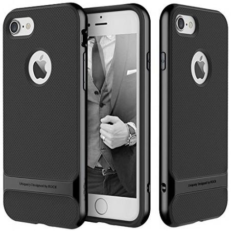 Rock Royce iPhone 7 Back Case Cover Jet Black