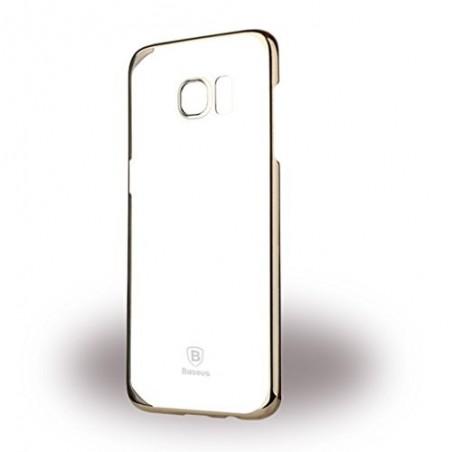 Samsung S7 Edge - Baseus Glitter Case Mobile Back Cover Gold