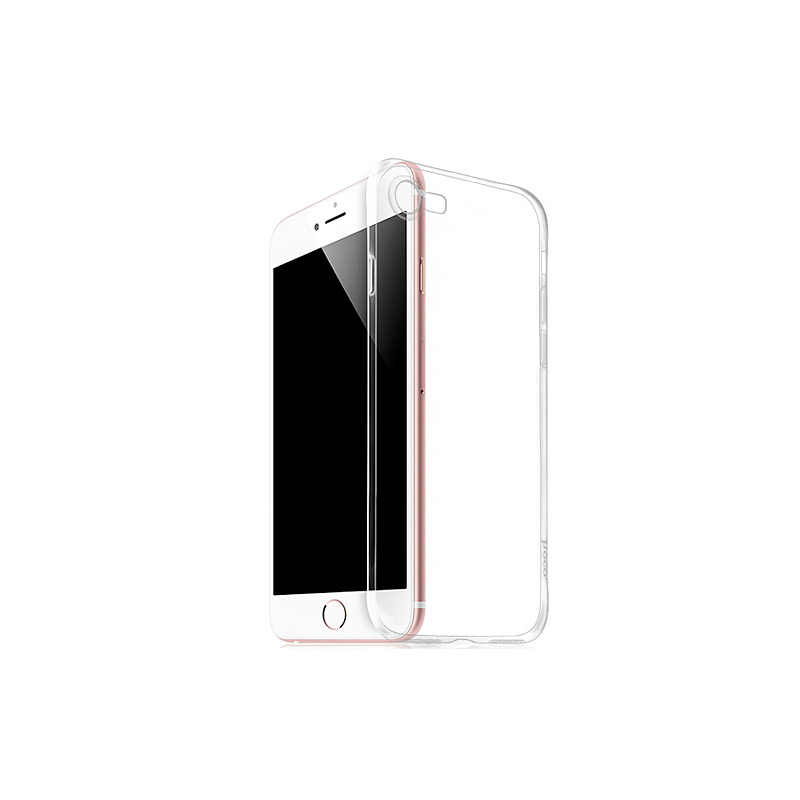 hoco iphone 7 light series tpu protective back case cover transparent. Black Bedroom Furniture Sets. Home Design Ideas