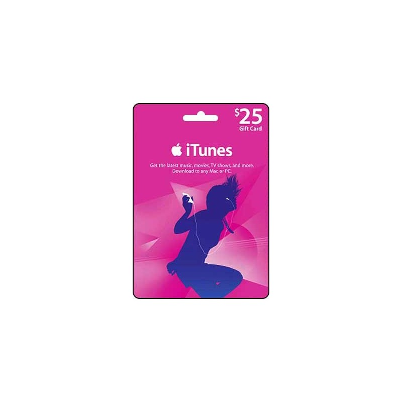 iTunes Gift Card $25 (Email Delivery)