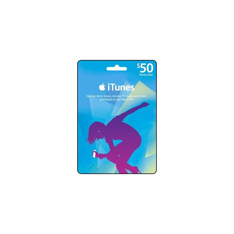 iTunes Gift Card $50 (Email Delivery)
