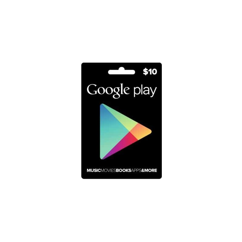 Google Play Card $10 (Email Delivery)