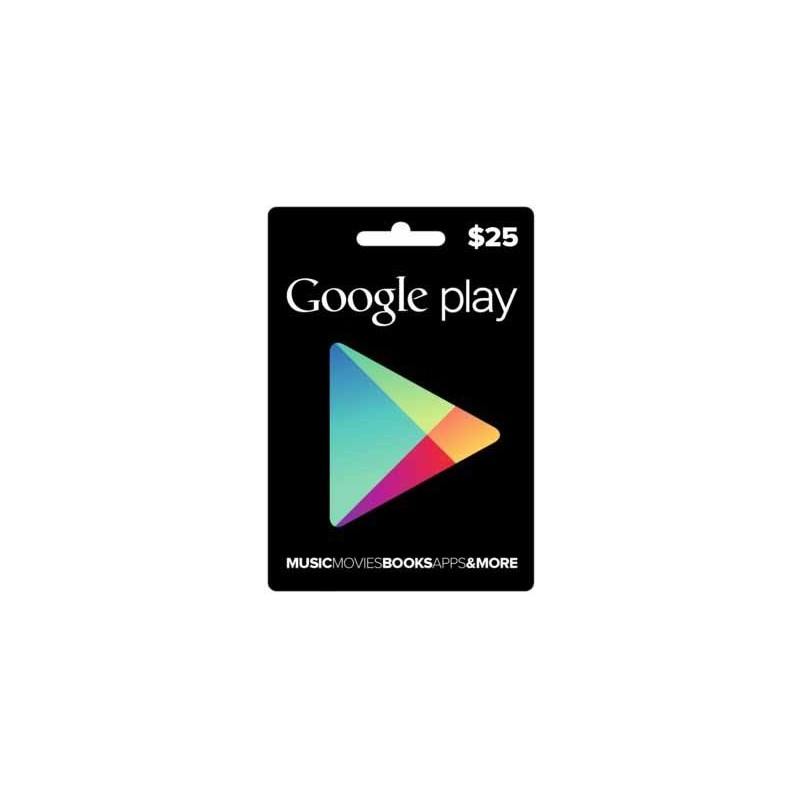 Google Play Card $25 (Email Delivery)