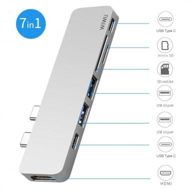 WiWU 7 in 1 USB-C to Multi...