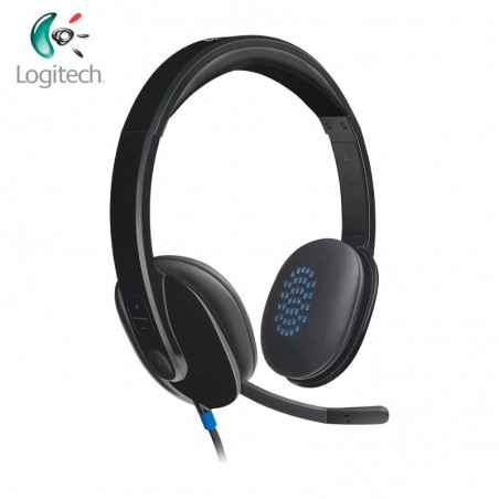 Logitech USB Computer Headset Logitech USB Headset H540 with USB-A compatible Support