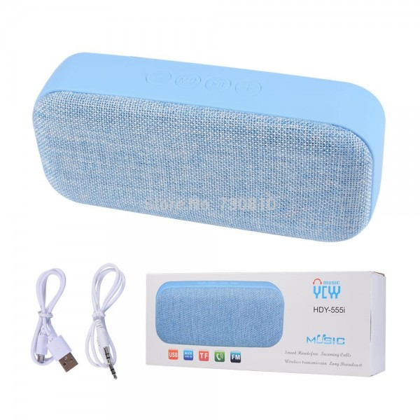 Hdy 555i Fabric Portable Wireless Mini Bluetooth Speaker Price In Bangladesh Color Black