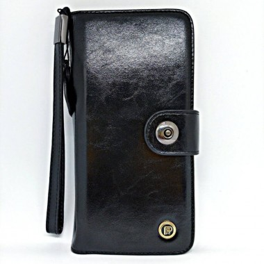 Open Leather Flip Wallet...