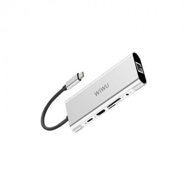 WiWU Apollo USB HUB 9 In 1...