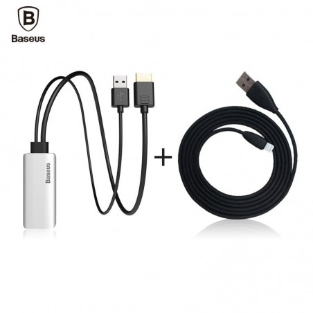 Baseus Synchronous High-definition Display Adapter Cable for iPhone iPad