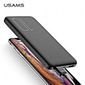USAMS Dual USB Power Bank 10000mAh Fast Charging 5V/2A With LED Light PB7