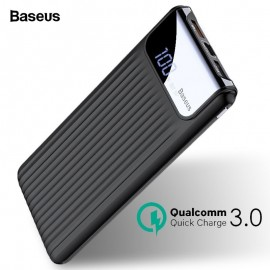 Baseus QC 3.0 10000mAh Thin Digital Power Bank With LCD