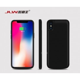 JLW 3000mAh Ultra Thin Backup Battery Case Cover For iPhone X